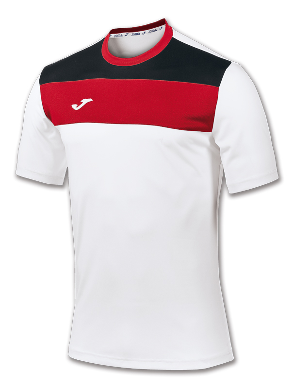 c9ec68a8 T-SHIRT CREW WHITE-RED S/S - 1 ...