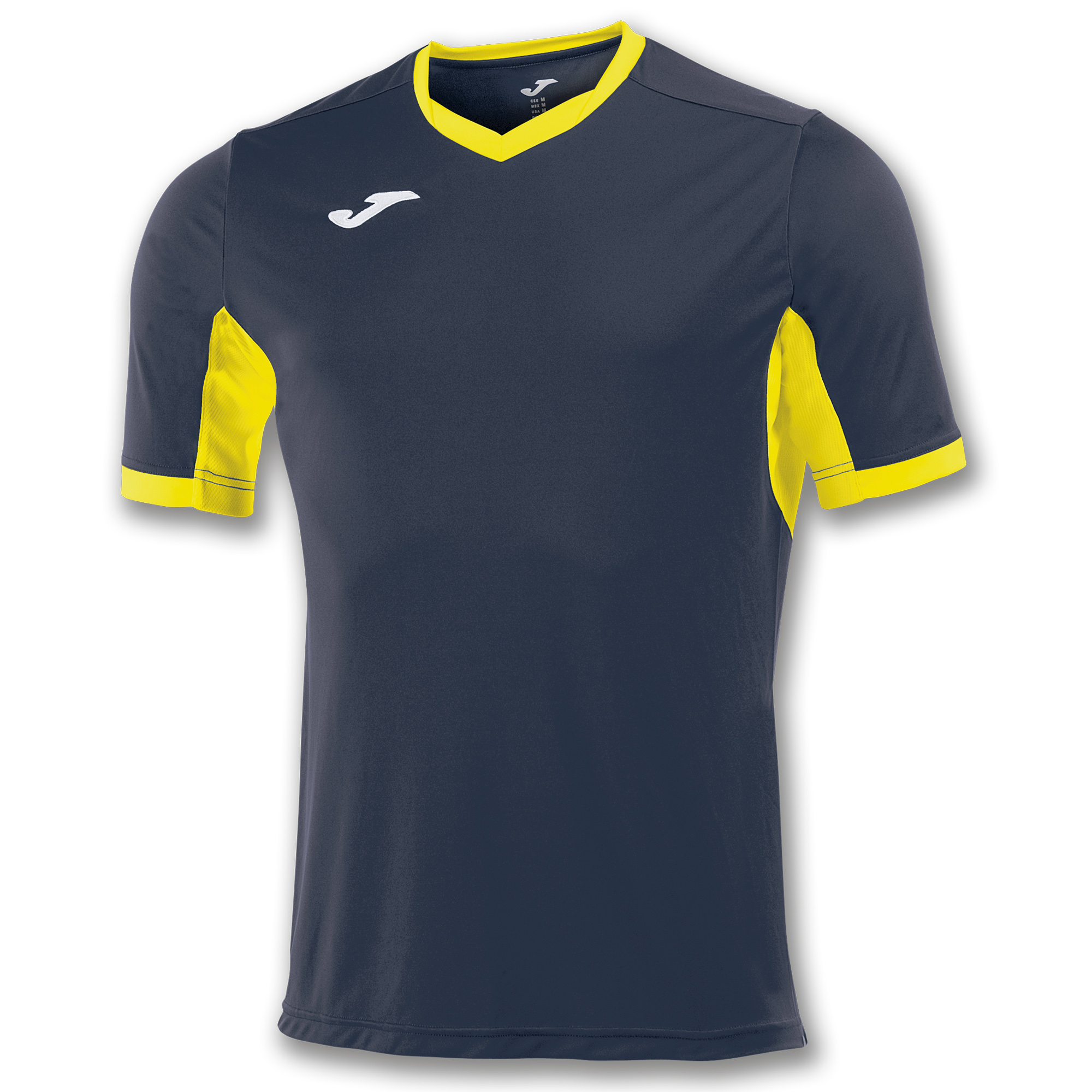 3d562a76 S/S T-SHIRT CHAMPION IV NAVY BLUE-YELLOW | JOMA