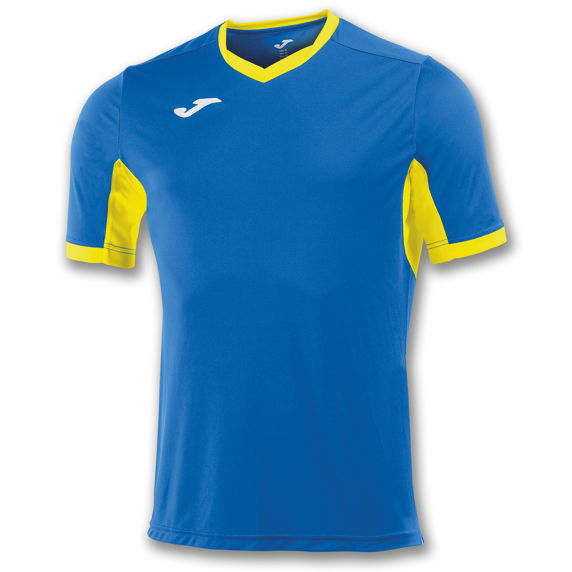 8bab5d0b S/S T-SHIRT CHAMPION IV ROYAL BLUE-YELLOW | JOMA