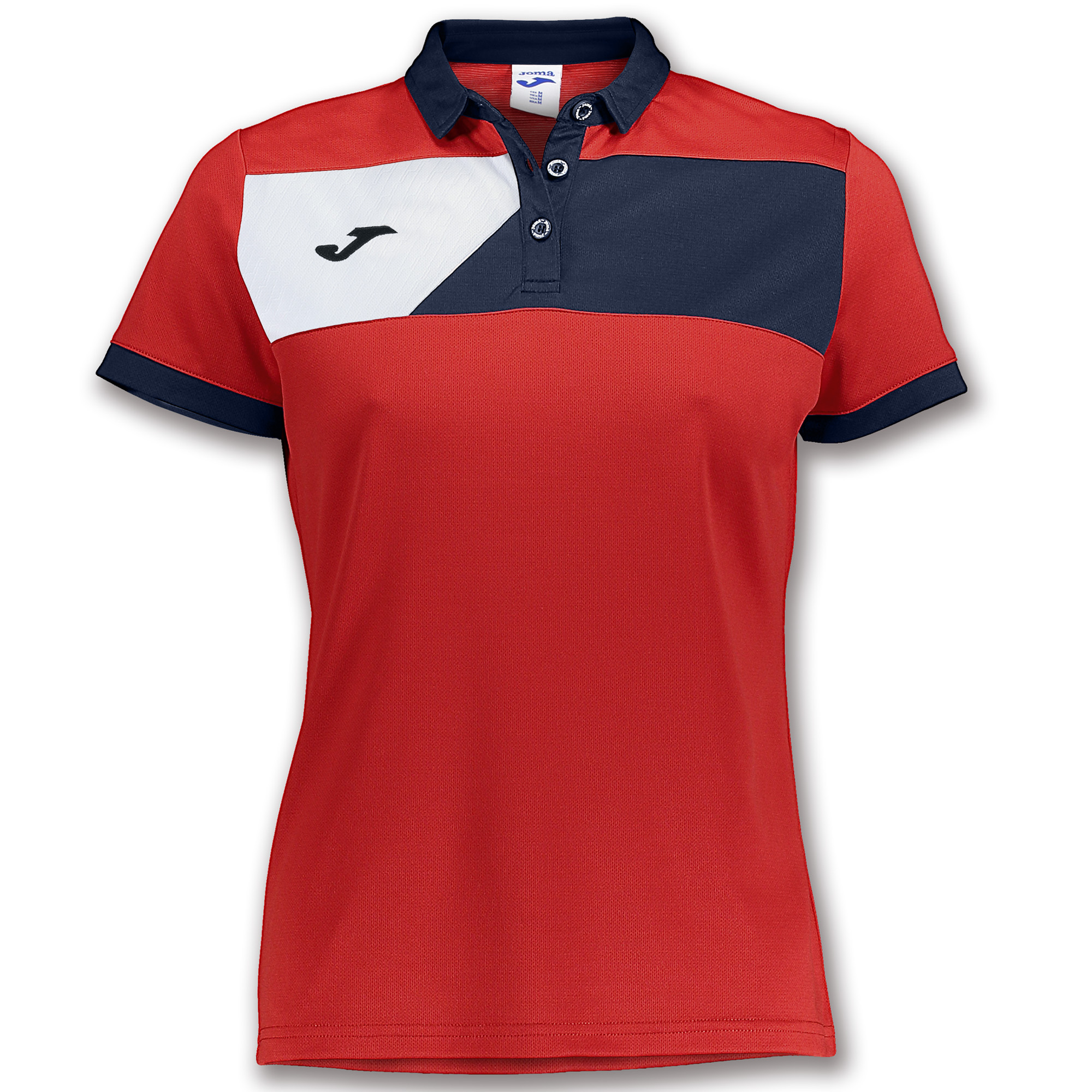 91d403bb87e1 S S POLO SHIRT CREW II RED-NAVY BLUE WOMEN - 1 ...