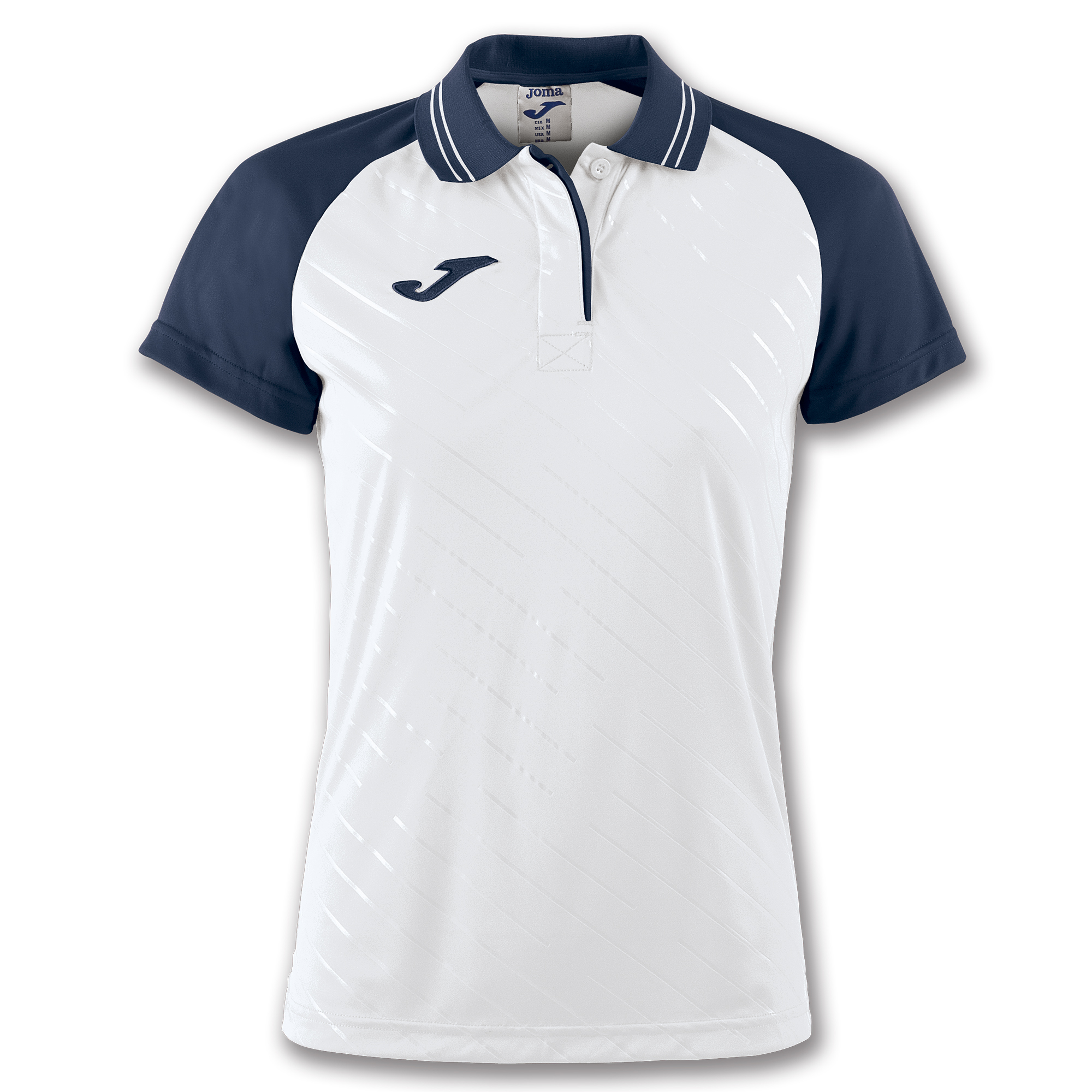 3f144b8ac165 S S POLO SHIRT TORNEO II WHITE-NAVY BLUE WOMEN - 1 ...