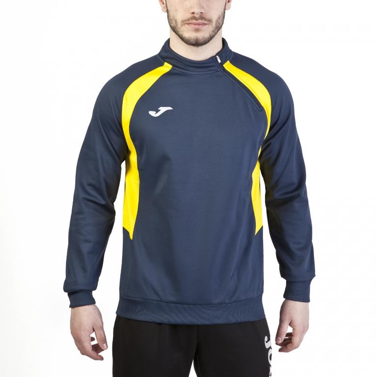 Bleu Marine-Jaune Sweat Joma Champion IV