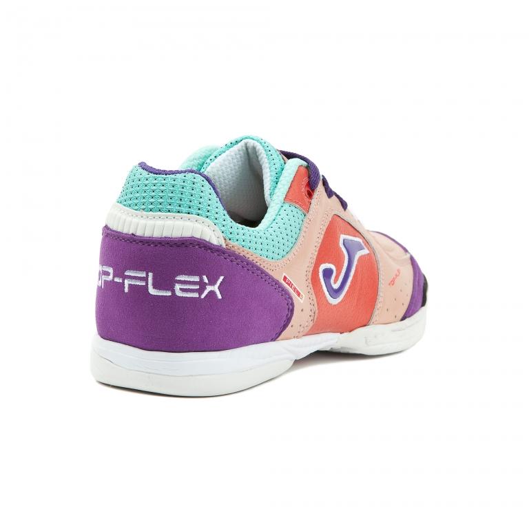 Joma Top Flex 113 Pink Sala Indoor Soccer Futsal Shoes