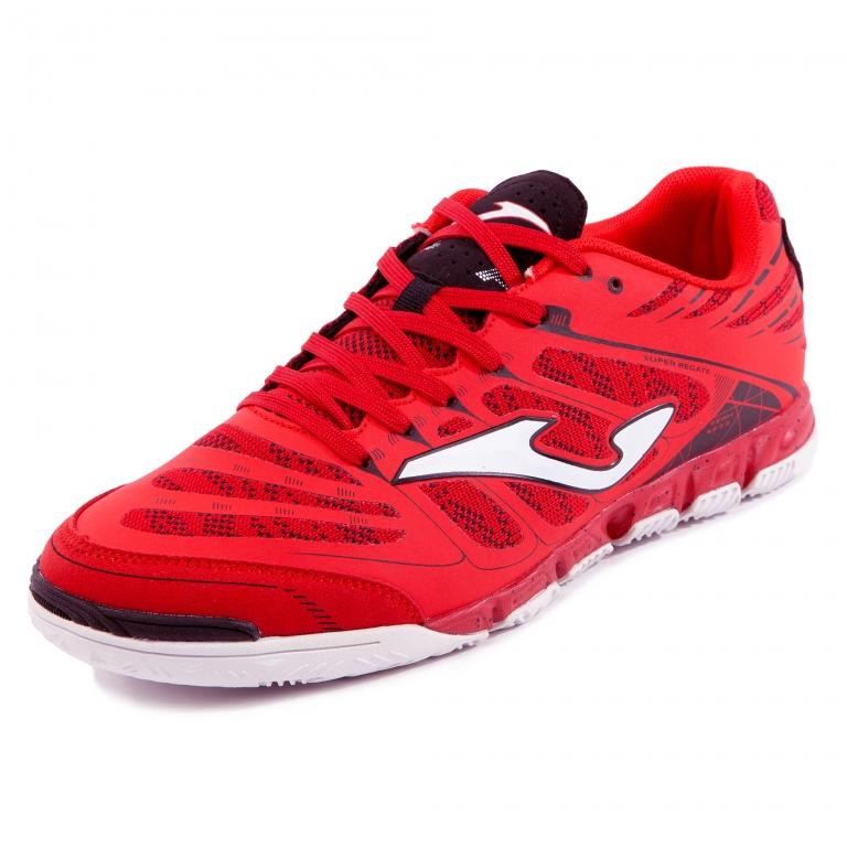 chuteira futsal joma top flex masculino - vermelho azul rojo