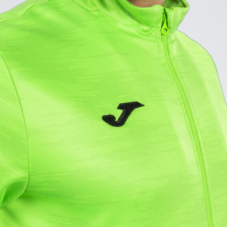 Joma Giacca GRAFITY 101369 Verde Fluo Fashion Sudadera